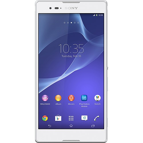 sony xperia t2 ultra branco frontal