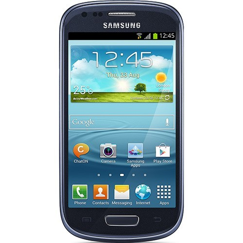 samsung galaxy s3 mini i8190 grafite frente