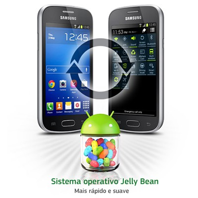 android sistema operacional galaxy trend lite