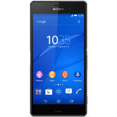 Tela do Sony Xperia Z3