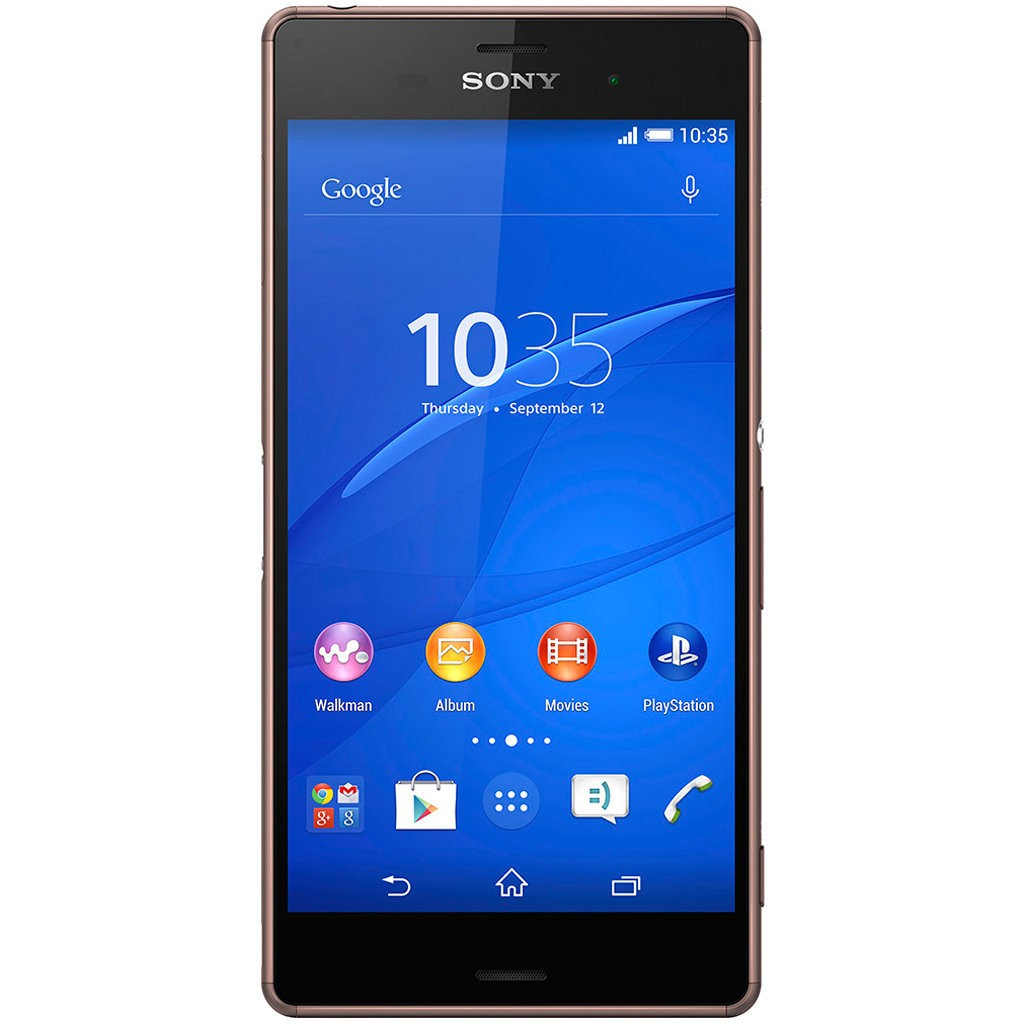 tela sony xperia z3 copper
