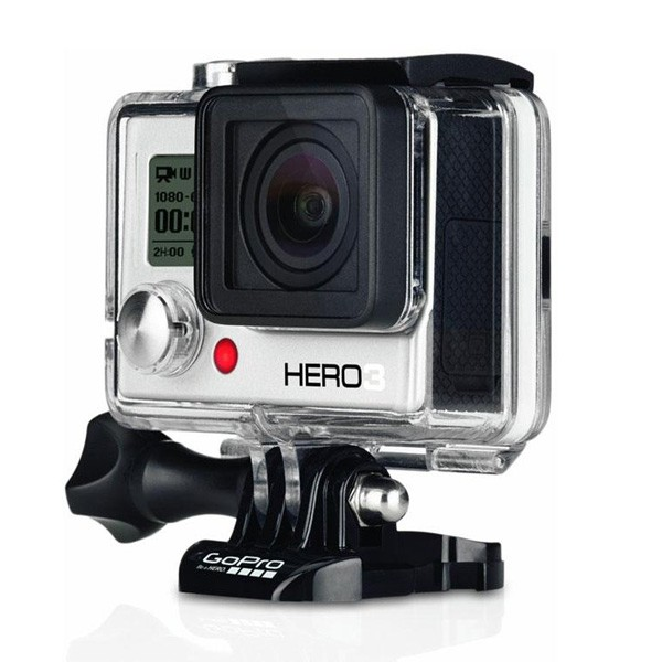 c mera digital gopro hero3 white edition prata. Black Bedroom Furniture Sets. Home Design Ideas