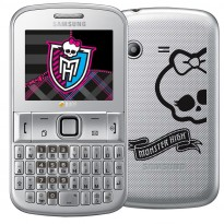 Design do Samsung Chat 222 Monster High