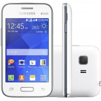 Frente Lado e Traseira do Smartphone Samsung Galaxy Young 2 Duos G130BT