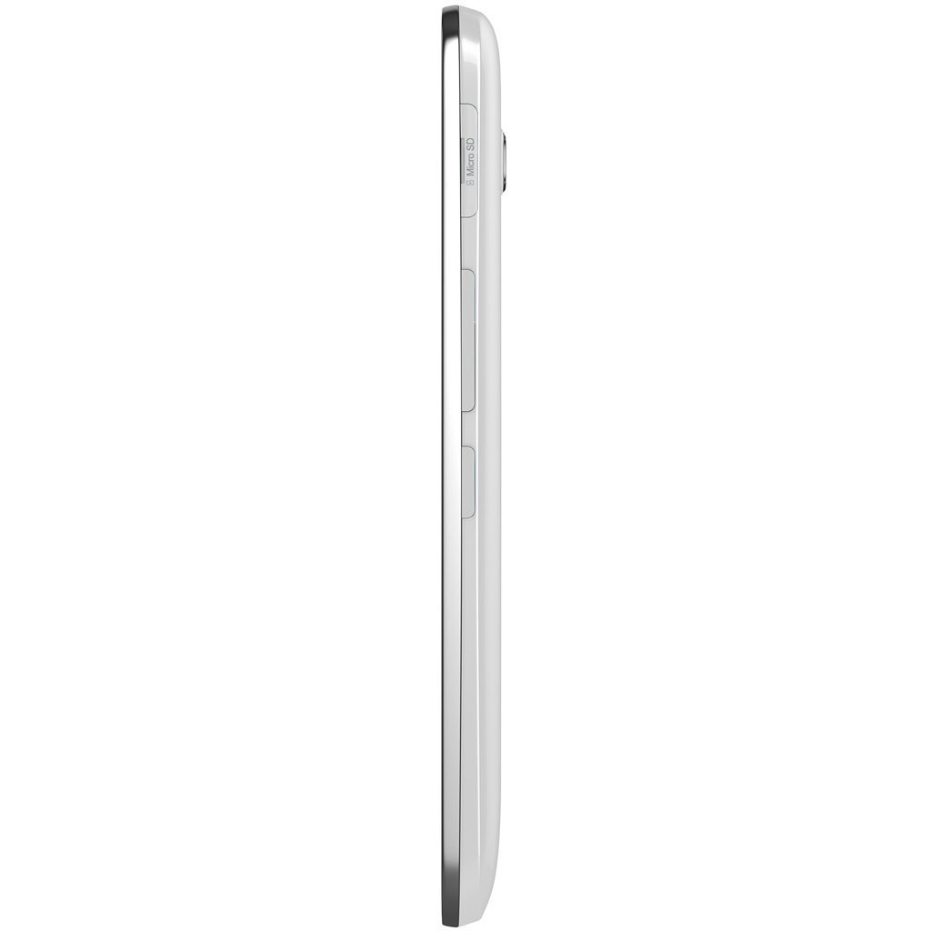 Lateral Alcatel One Touch Pop C9 Branco
