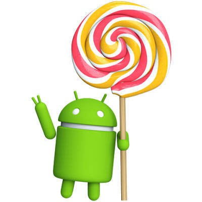 Logo Sistema Android 5.0 Lollipop