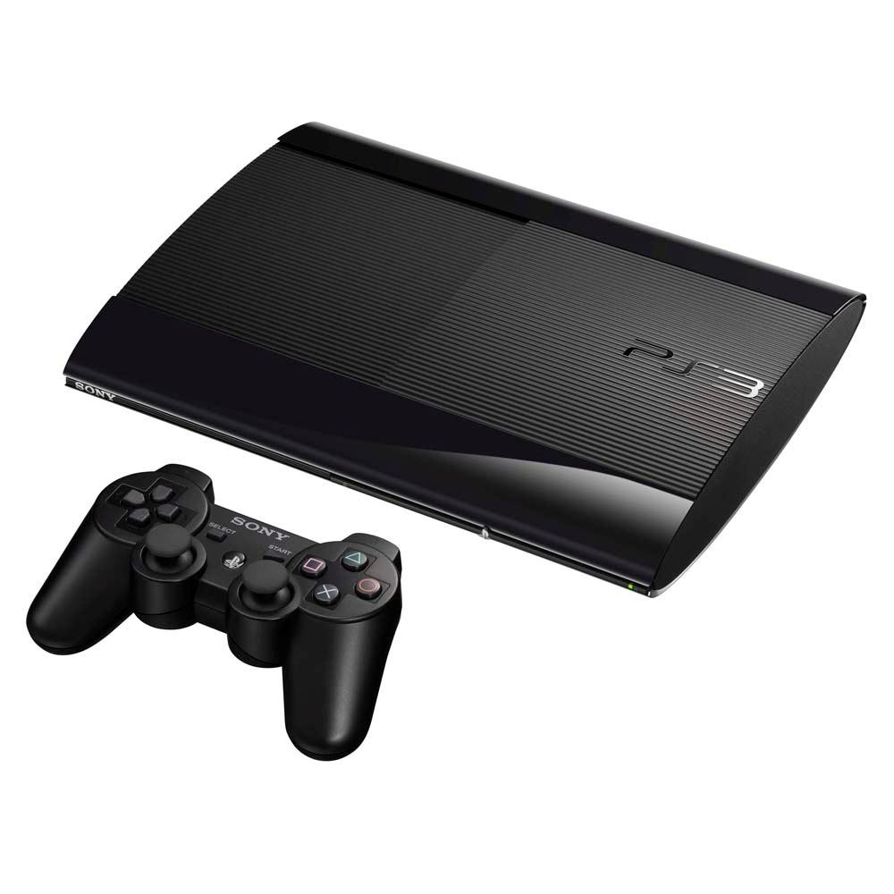 Console Playstation SONY PS3 500GB Bloqueado Preto