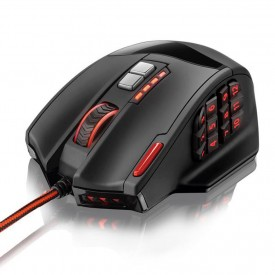 Mouse Gamer Multilaser Laser MO206