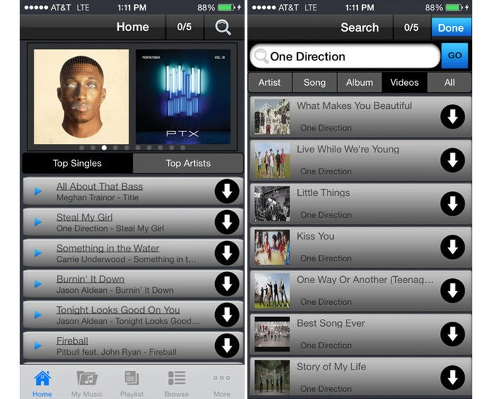 how to download freegal music to iphone