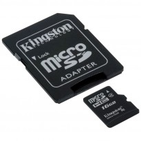 Cartão Micro SD Kingstion com Adaptador SDC4 16GB