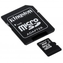 Micro SD Kingston 8 GB Class 10