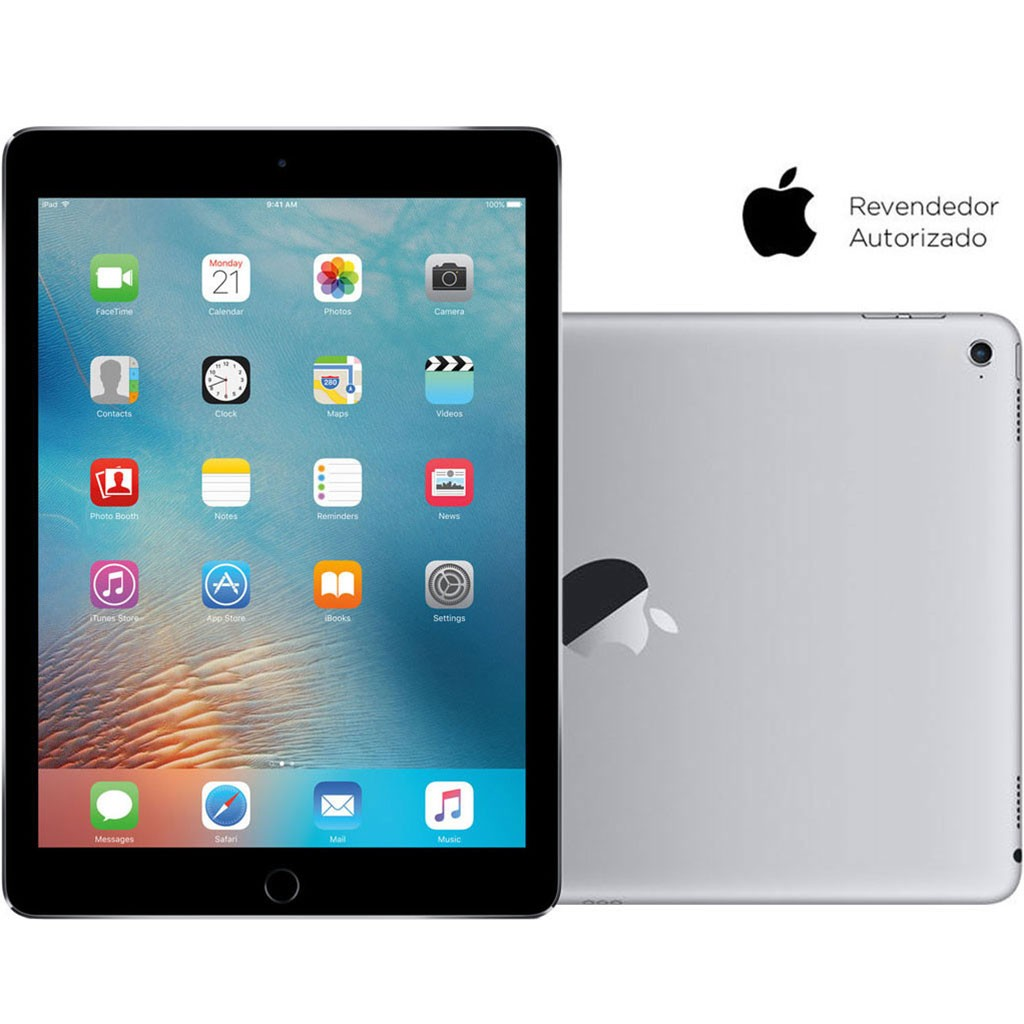 Tablet Apple iPad Pro Wi-Fi 4G 128GB Cinza Espacial