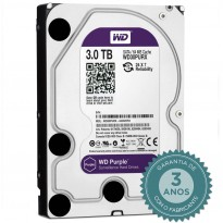 HD Interno WD Purple 3TB WD30PURX