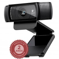 Webcam Logitech C920 Preto