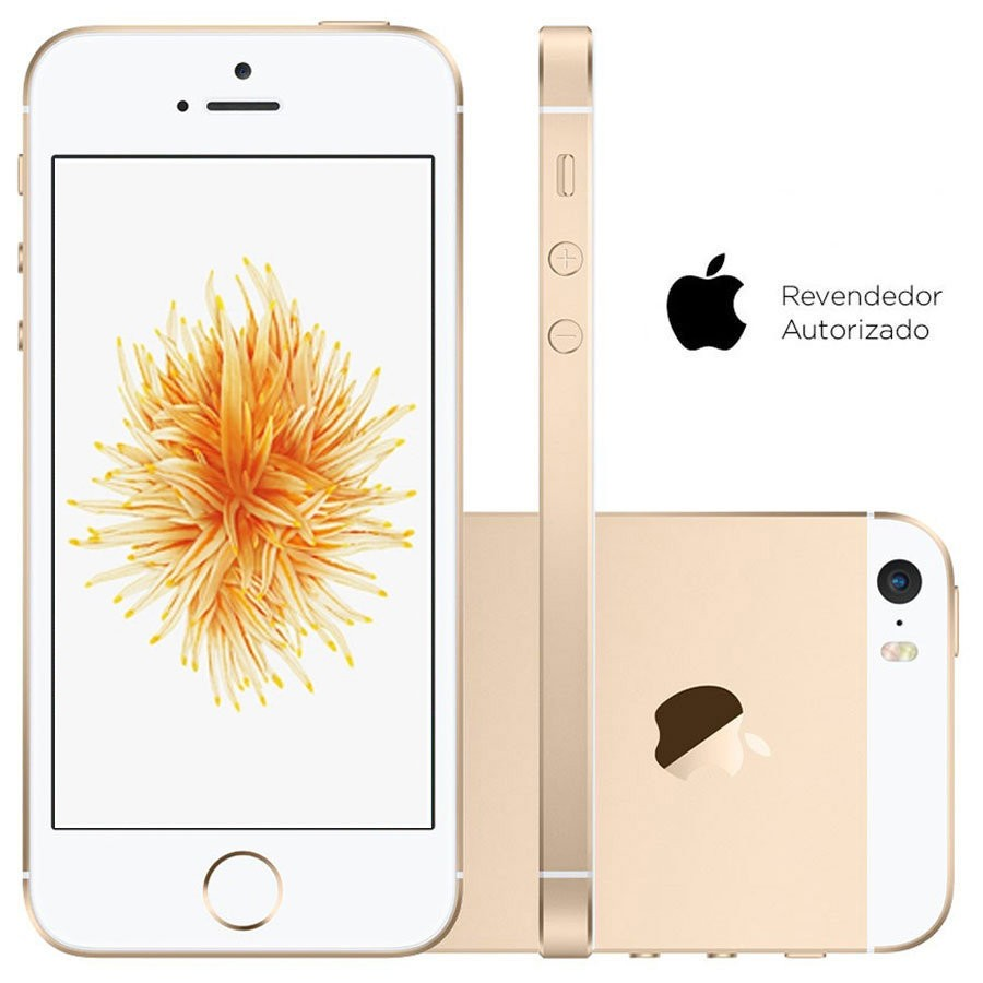 Smartphone Apple iPhone SE 16GB Desbloqueado Dourado