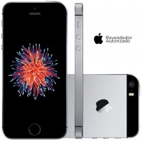 Smartphone Apple iPhone SE 64GB Cinza Espacial