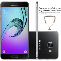 Galaxy A7 Preto + Level U Pro