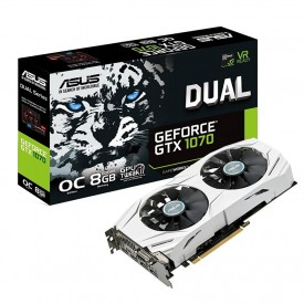 Placa de Vídeo ASUS GeForce GTX 1070 8GB DUAL - GTX1070 O8G