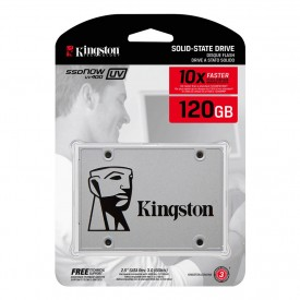 SSD Kingston UV400 120gb Embalagem